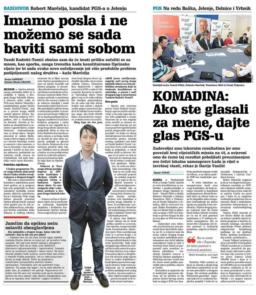novi_list_intervju - Novi list: Razgovor - Robert Marčelja - Novosti