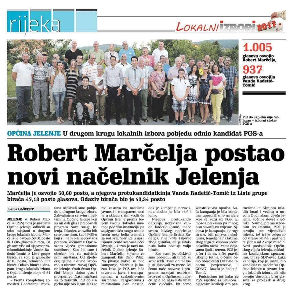 18902961_10210892994653280_598286615_n - Robert Marčelja novi je načelnik Općine Jelenje - Novosti